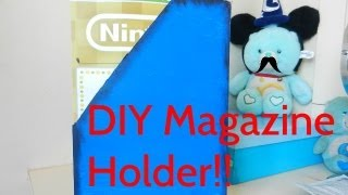[hd] Vlog#29 Diy Magazine Holder