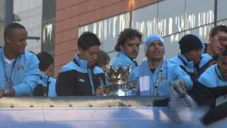 MAN CITY Homecoming Parade 2012!!!! [HD]