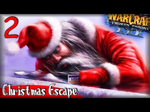 Warcraft 3 Frozen Throne - Карта Christmas Escape Beta #2 [НОВОГОДНИЙ БАРЫГА]