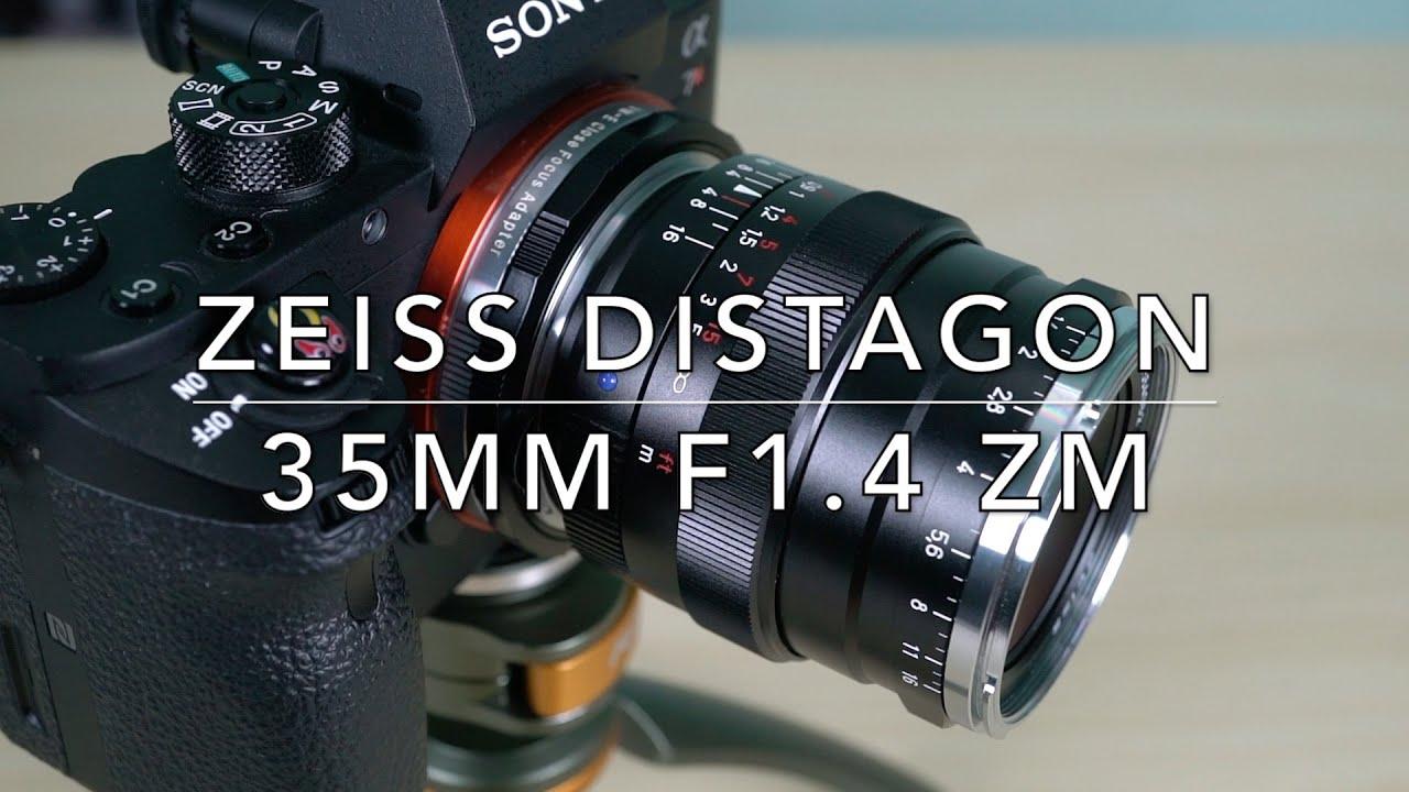 Tech Chill ตอนที่ 182 เลนส์ Zeiss Distagon T* 35mm f1 4 ZM