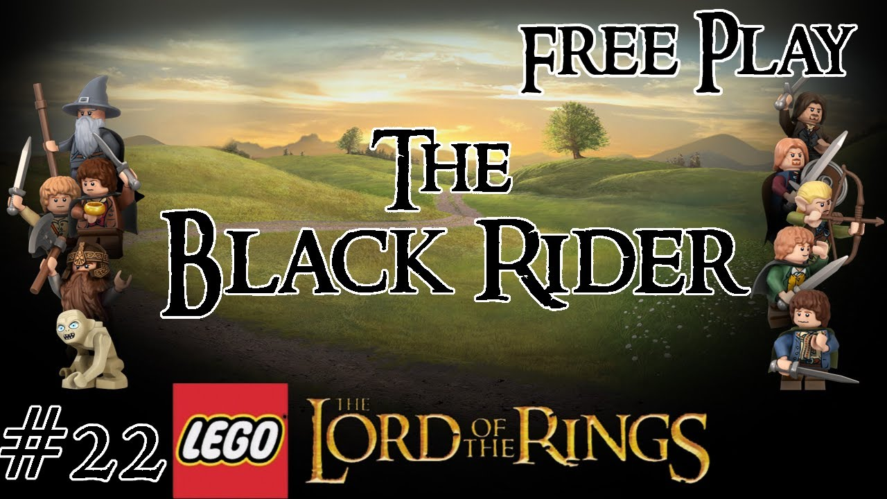 Lego Lord Of The Rings Free Play The Black Rider