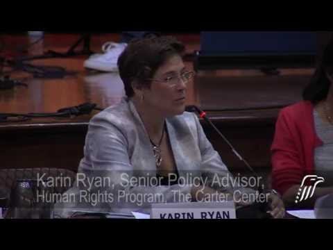 2016 Carter Center Human Rights Defenders Forum, Part 2/6