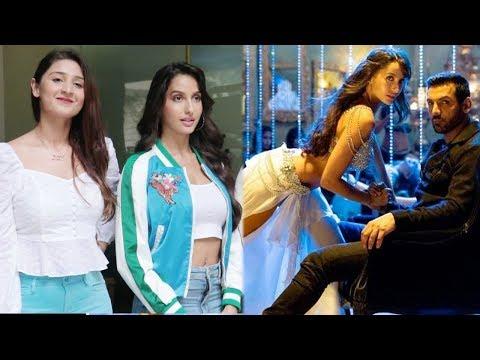 GORGEOUS Nora Fatehi Promotes 'Dilbar' Song From 'Satyameva Jayate'