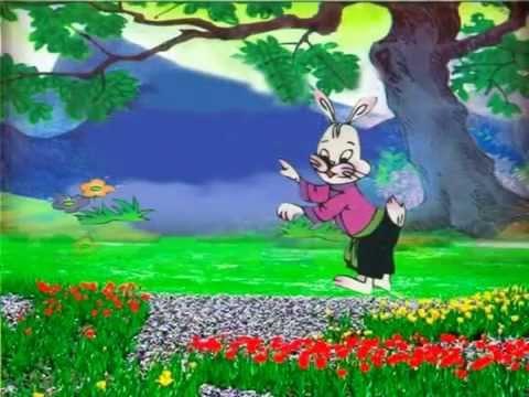 kể truyện cho bé - Cáo, Thỏ va Gà trống m2p