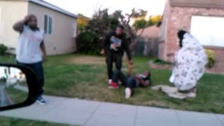 stupid early morning fight.