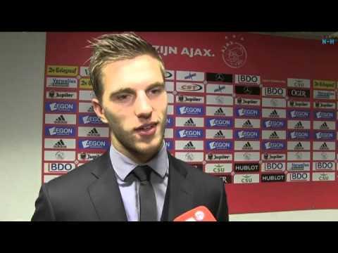 Ajax verdediger Joël Veltman