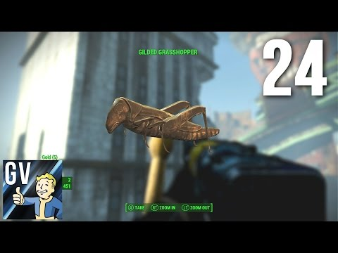 Let's Play Fallout 4 Part 24 - Friggin' Faneuil Hall