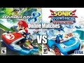 Mario Kart 8 Vs Sonic Racing Transformed Online Matches Part 1