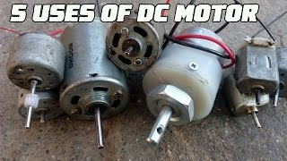5 Useful things from DC motor - Compilation