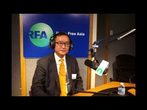 Mr. Sam Rainsy interview with RFA on 06-03-2017