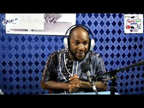 SPORTFM TV - PLATEAU FOOT EUROPE DU 17 SEPTEMBRE 2018 PRESENTE PAR ANGELO FOLLYKOE