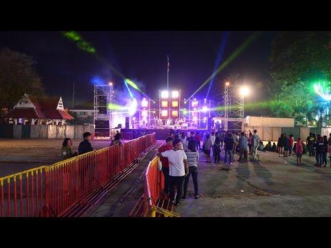 [Live-Sound] คอนเสิร์ต ลาบานูน Labanoon ถ่ายทอดสดเสียง งานกาชาด จ.มหาสารคาม 31/1/58