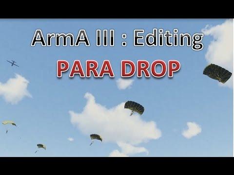 ArmA 3 Mission Editing : AI Para Drop (no mods)