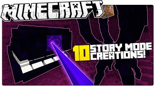 10 minecraft story mode creations you need to see custom commands more