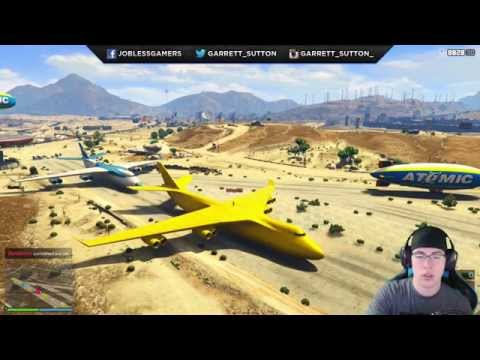 GTA 5 Unobtainable Vehicles Online! Rare Cargo Plane & EPIC RARE CARS! (GTA 5 Funny Moments)