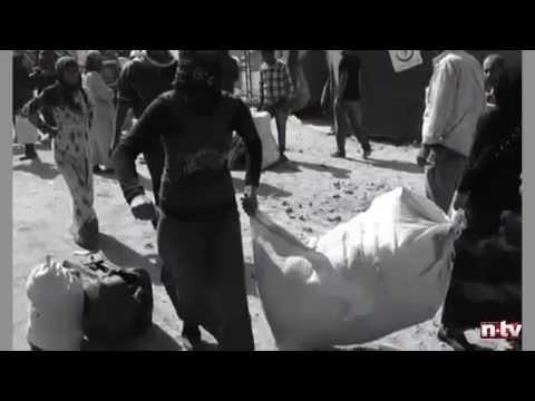 Bedrückende Bilder von der türkisch-syrischen Grenze Angst, Wut und Sehnsucht