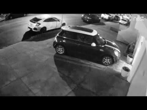 Security Cam Video of 4.5 mag earthquake (4 JAN 2018), San Francisco, California
