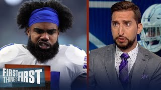 It's critical that the Cowboys sign Zeke for their success — Nick Wright | NFL | FIRST THINGS FIRST