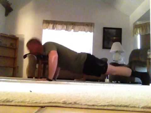 David Barnard Crossfit Push-up Contest 140221