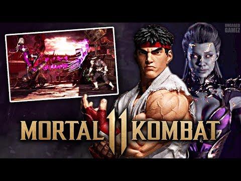 Mortal Kombat 11 - NEW In-Game Look At Sindel & Capcom Crossover?! |