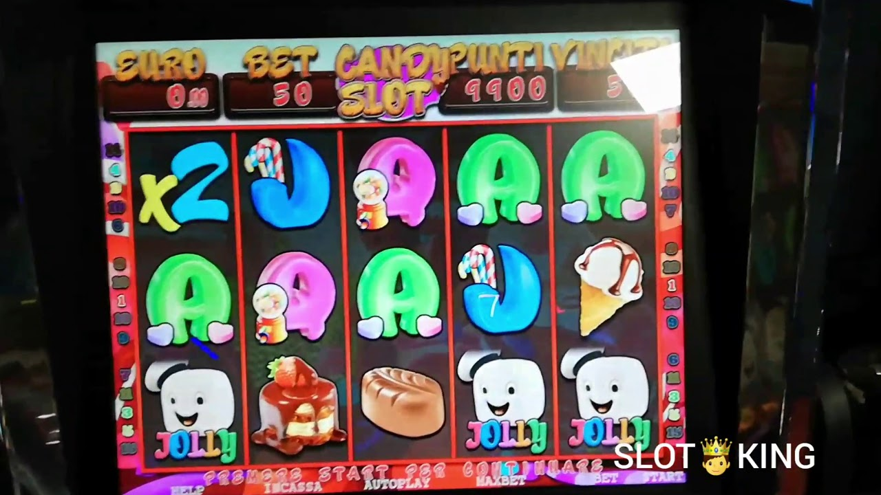 SLOT MACHINE BAR CANDY SLOT ????