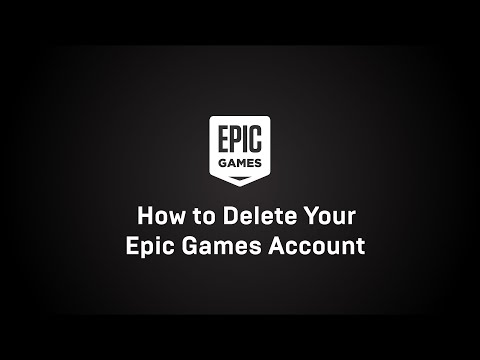 How To Delete An Epic Games Account