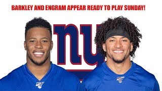 New York Giants- Saquon Barkley & Evan Engram appear ready to go for game against Arizona Cardinals!