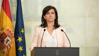 Comparecencia de la Presidenta del Gobierno de La Rioja