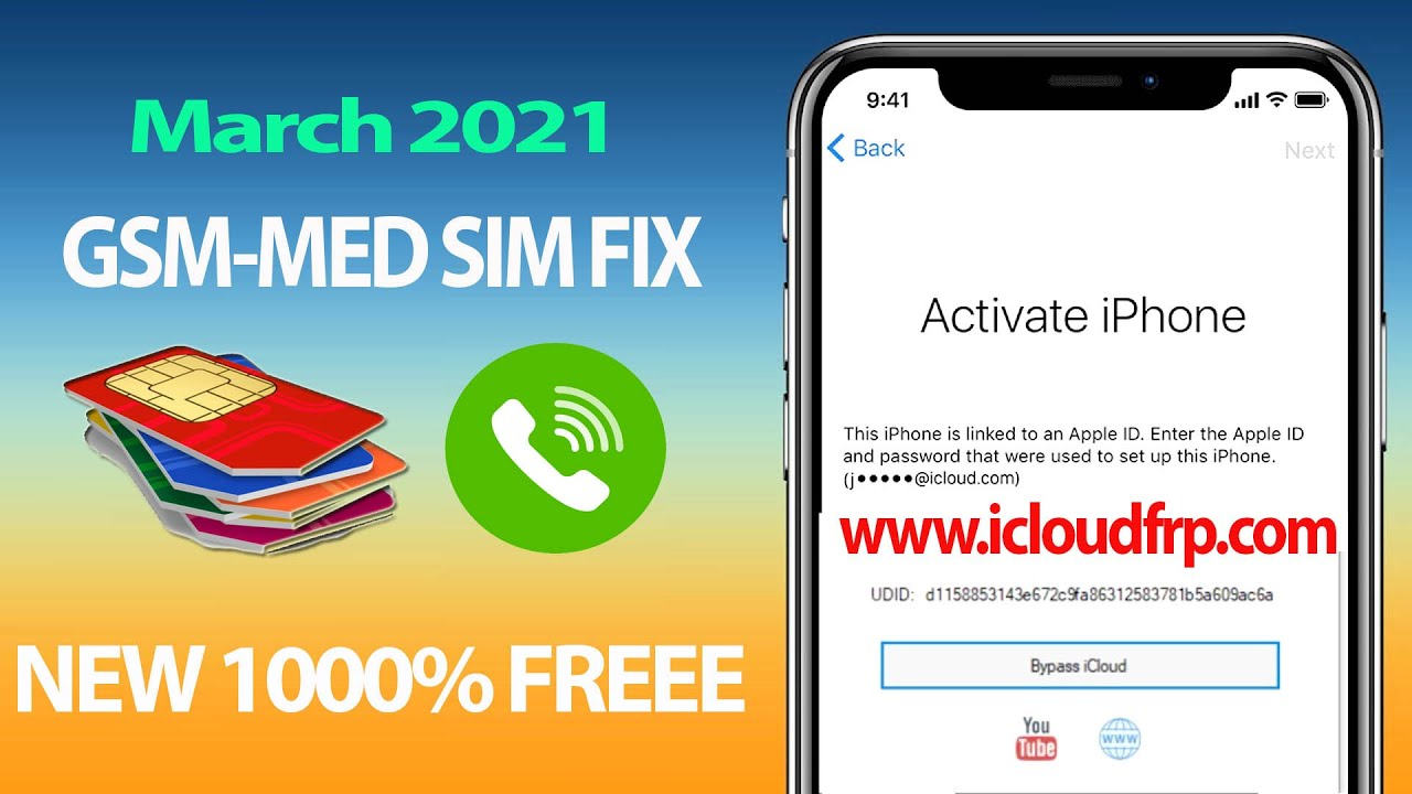 March 2021 iCloud GSM-MEID CALL REAL FIX📶iOS 12.5-14.4-14.5✅NEW And 1000% FREE