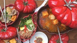 Jn Bún Riêu – Vietnamese Crab Tomato Soup