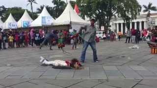 Kuda Lumping - Museum Fatahillah Jakarta (Part 2)