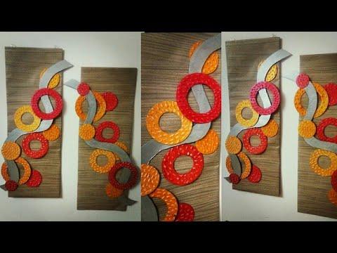 Cardboard Wall Hanging Diy Wall Decor Room Decor Cardboard Wall
