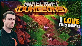 Minecraft Dungeons! I Love This Game! Basicallyidowrk, Couragejd, Drlupo, And Moosnuckel