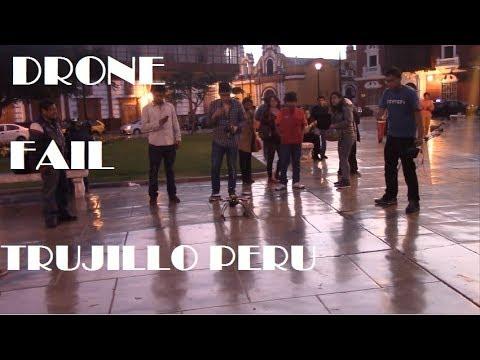 Drone fail Trujillo-Peru