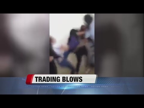 CAUGHT ON CAMERA: Disturbing brawl at high school