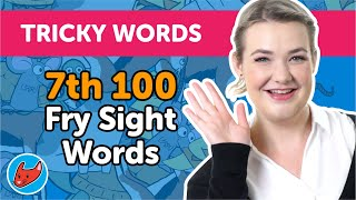 100 Tricky Words #14 | Fry Words | 7th 100 Fry Sight Words | Made by Red Cat Reading