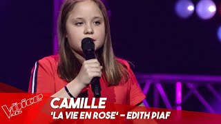Camille - 'La vie en rose' | Blind Auditions | The Voice Kids Belgique