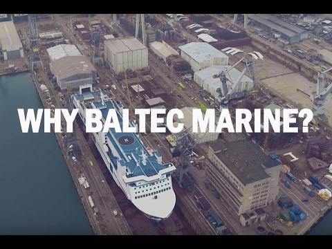 Baltec Marine scrubber installation case study 2017