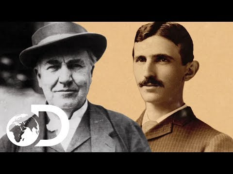 Thomas Edison Did Everything He Could To Stop Nikola Tesla Succeeding | Tesla's Death Ray