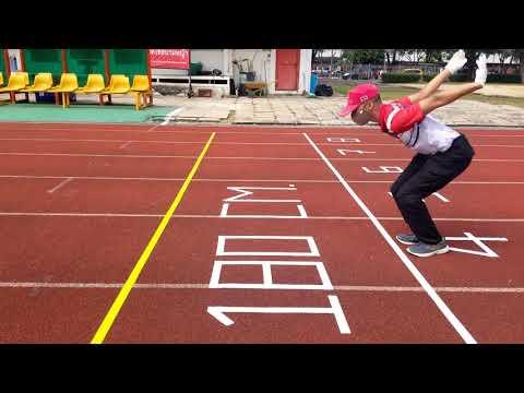 เทคนิคสอบ 3 ฐาน กระโดดไกล วิ่งเก็บของ วิ่ง 50 เมตร สอบตำรวจ2564