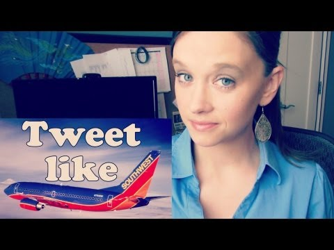 Tweet like Southwest Airlines
