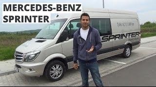 видео Грузопассажирский Mercedes