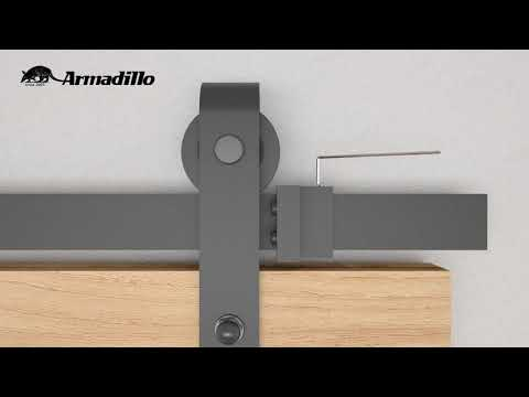 Инструкция по установке Открытой системы Armadillo SUPERVISION 100 для раздвижных дверей