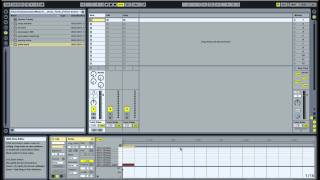 Ableton: Making a basic House beat 1- Adding Kick Hat Clap