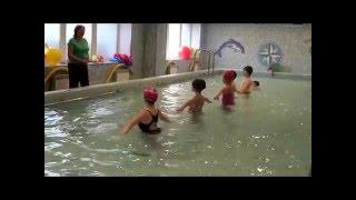 Открытый урок в бассейне 2016 г.