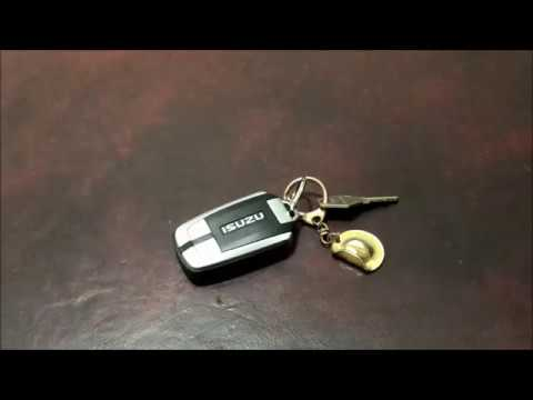 How to Replace the Battery in a 2016 Isuzu MU X Keyless Entry Remote