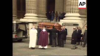 FRANCE: FUNERAL SERVICE OF FILM DIRECTOR LOUIS MALLE