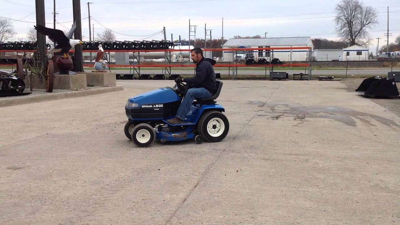 New Holland Ls35 Lawn Tractor | New Holland Lawn Tractors: New ... on