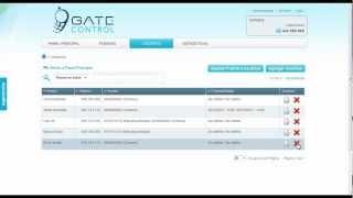 GateControl Tutorial Administrador - Cómo dar de baja usuarios (Control de accesos online)