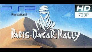 Paris-Dakar Rally - (Gameplay) - PS2 720p (HD)